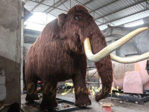 Prehistoric Life-size Animatronic Animal Woolly Mammoth
