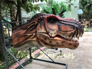 Realistic Animatronic T-Rex Head for Theme Park