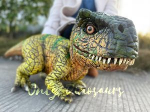 Realistic Tyrannosaurus Rex Dinosaur Hand Puppet