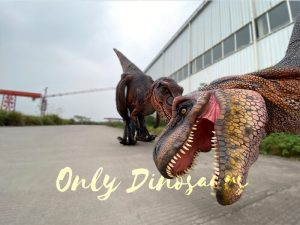 Vivid Visible Legs Tyrannosaurus Rex Costume