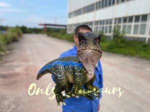 Adorable Jurassic Park Dino Raptor Hand Puppet