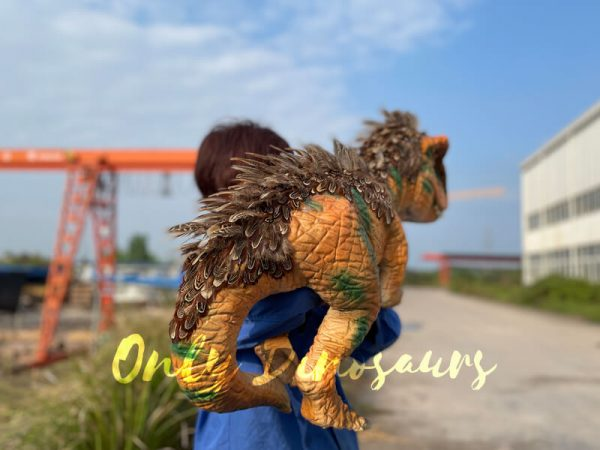 Feathered-Baby-T-Rex-Dino-Puppet-for-Sale4