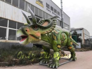 Albertaceratops Animatronic Dinosaur Model