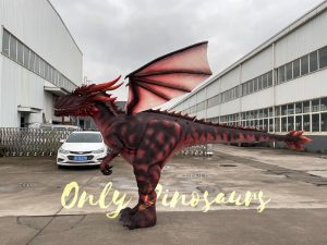 Lifelike Dragon Outfit for Adults