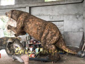 Lifelike Robotic Animal Megatherium from Ice Age