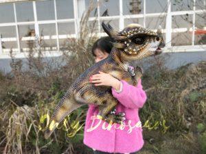 Lovely Little-baby Stygimoloch Dinosaur Puppet