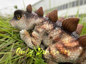 Naughty Stegosaurus Dinosaur Handheld Puppet
