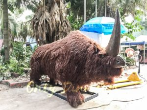 Special Prehistoric Park Animatronic Elasmotherium