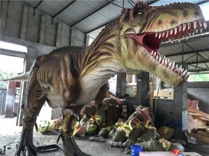 The Snarling T-Rex from Jurassic World