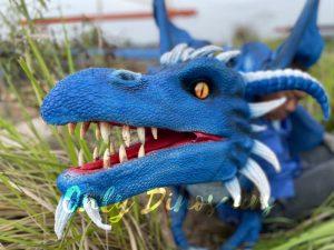 Vivid Flying Dragon Shoulder Puppet for Halloween