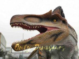 Vivid Jurassic Animatronic Dino Spinosaurus Statue