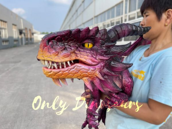 Adorable-Baby-Dragon-Hand-Puppet-for-Cosplay-Party1