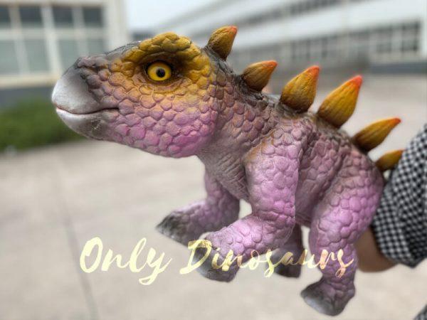 Cute-Baby-Dinosaur-Stegosaurus-Hand-Puppet4