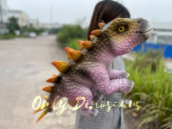 Cute-Baby-Dinosaur-Stegosaurus-Hand-Puppet5