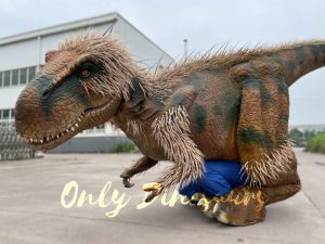 Feathered Visible Legs T-Rex Costume for Sale