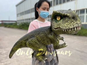 Lifelike Baby T-Rex Dino Hand Puppet