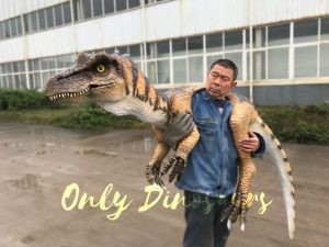 Lifelike Baryonyx Dino False Arm Shoulder Puppet