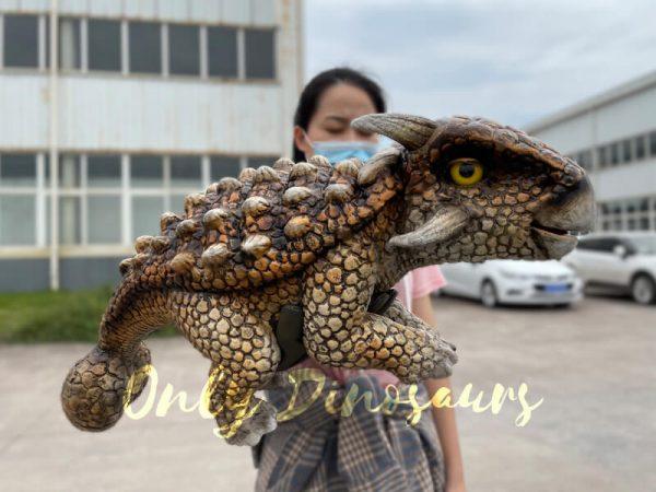 Realistic-Dinosaur-Baby-Ankylosaur-False-Arm-Puppet1