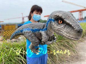 Realistic False Arm Raptor Dino Puppet