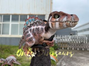 Adorable Baby Spinosaurus False Arm Puppet