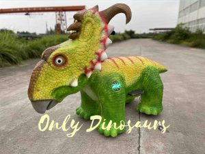 Colorful Dinosaur Kiddie Ride for Playground