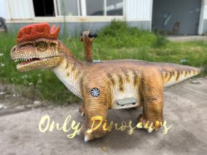 Realistic Dilophosaurus Dinosaur Electromobile