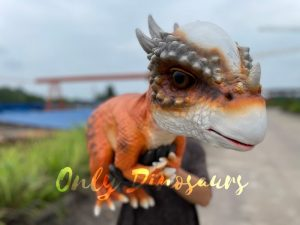 Realistic False Arm Stygimoloch Dino Puppet