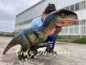 Realistic Velociraptor Hand Dino Puppet