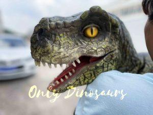 False Arm T-Rex Vivid Prasinous Puppet