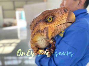 False Arm Wondrous Psittacosaurus Dino Puppet