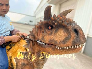 Ferocious Carnotaurus Stilts Costume for Sale