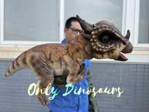 Realistic Stygimoloch Dinosaur Puppet for Kids