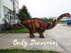 Four Legs Realistic Big Brontosaurus Dino Costume